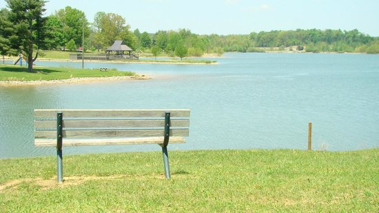 Freeman Lake Park in Elizabethtown