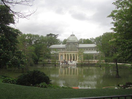 Parque del Retiro: Palacio de cristal