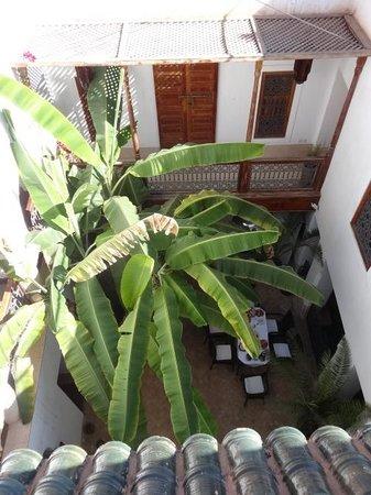 Riad Dar Rassam: patio