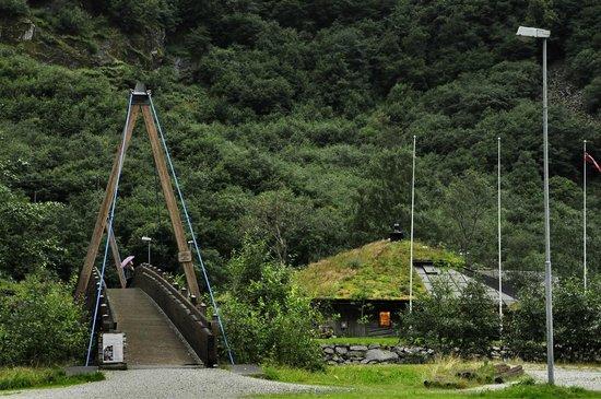 Gudvangen Fjordtell : Вид на ресепшен