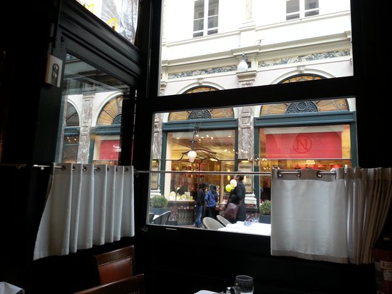 La Taverne du Passage: View from the window tables