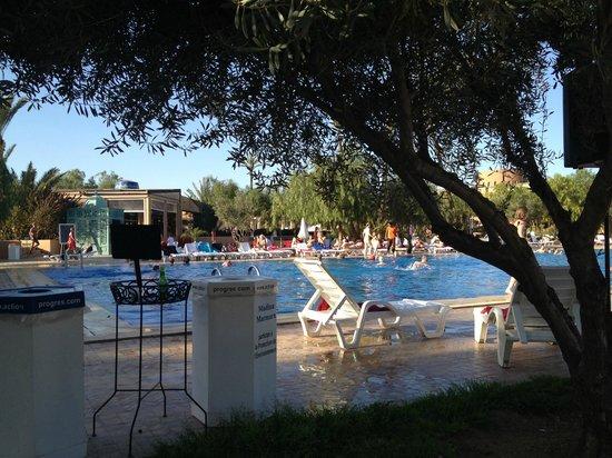 Club Marmara Madina : Piscine depuis les transats