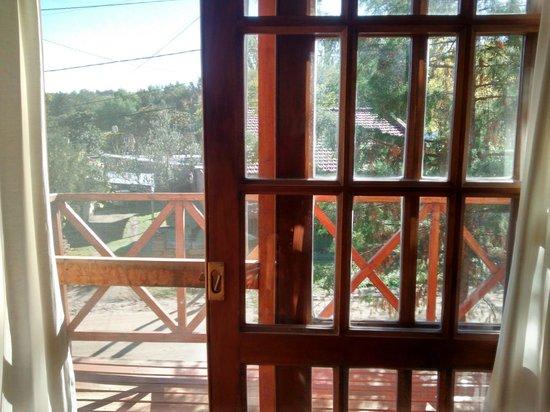 Leyenda Posada: el balcon aterrazado de la habitacion