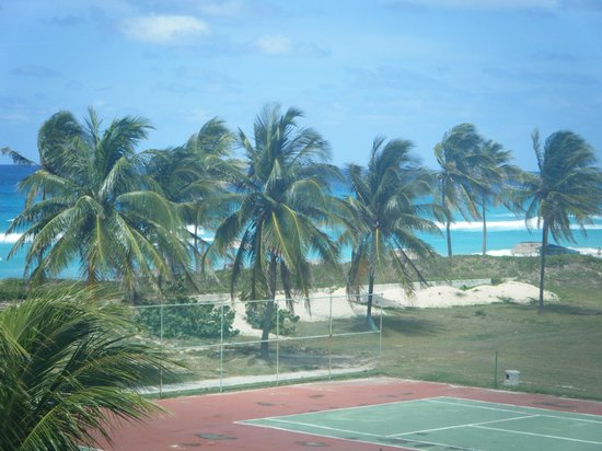 Gran Caribe Club Atlantico : view from room 211