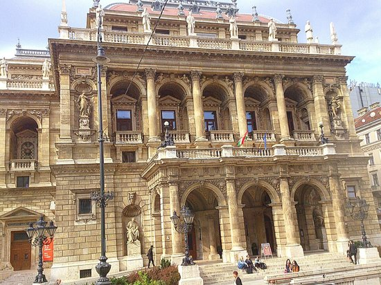 Hungarian State Opera House (Magyar Allami Operahaz) : Budapest - Magyar Allami Operahaz (Hungarian State Opera House)