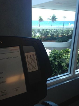 The Westin Beach Resort, Fort Lauderdale: view from Westin Workout Facility!!