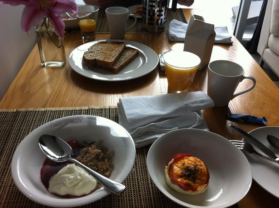 The Arrow Private Hotel: Breakfast