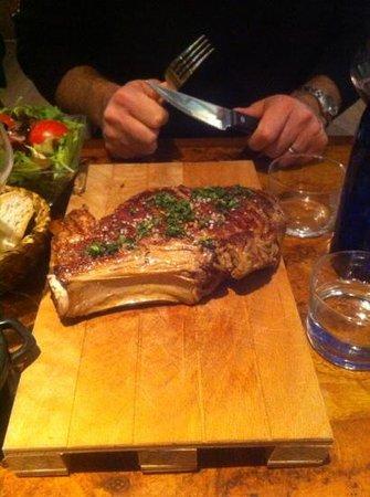 Chez Vito: bistecca di toro