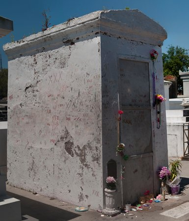 French Quarter Phantoms: The tomb of Marie Laveau, Voodoo Queen