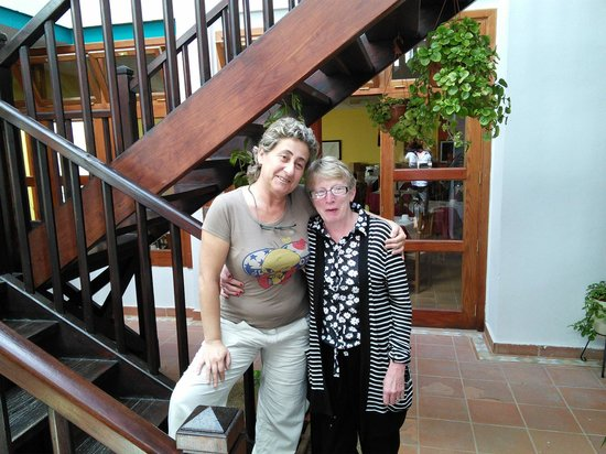 La Casita Hotel: MY BEST FRIEND CINZIA