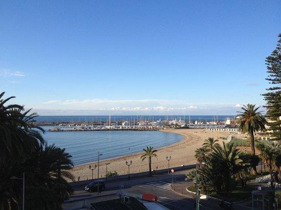 Marinella: Vista dal terrazzino