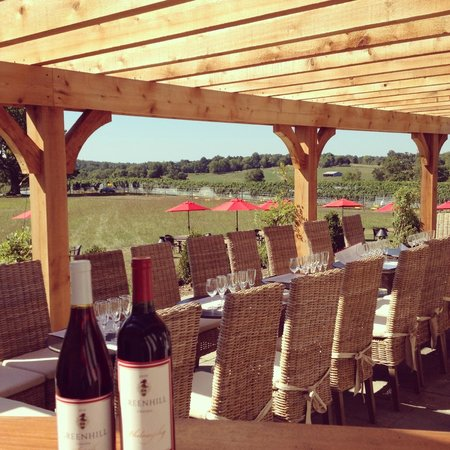 Greenhill Winery and Vineyards' Tasting Room