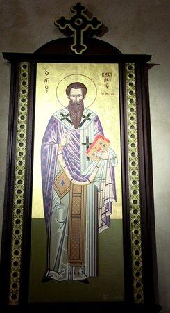 Eglise Saint Julien Le Pauvre: Saint orthodoxe