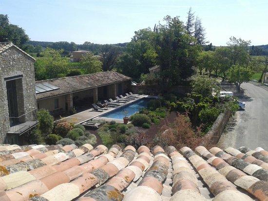 La Maison d'Ulysse : Vue piscine