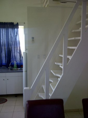 Rembrandt Studio Apartments: Steepest stairs I have ever seen