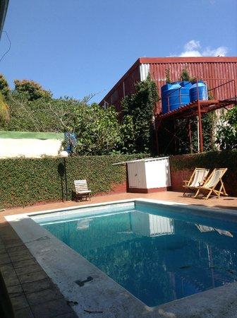 Managua Backpackers Inn: The Pool Area