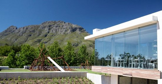Tokara Restaurant: outside