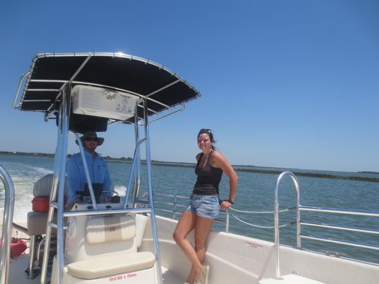 Charleston Outdoor Adventures : Daughter and the Captain!