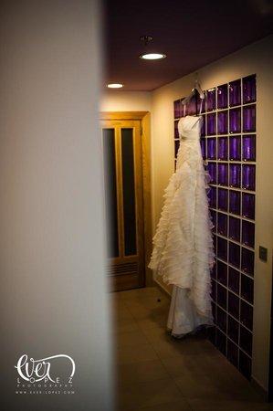 Hotel Riu Plaza Guadalajara: Suite presidencial, detalle fuera del baño