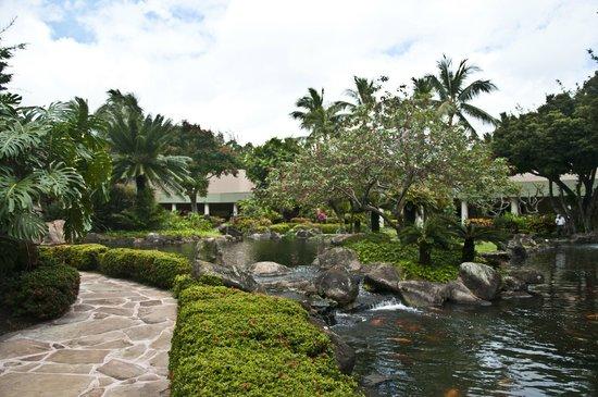 Kaua'i Marriott Resort : Beautiful gardens at the Marriott Resort