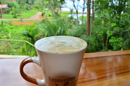 Drake Bay Cafe: Hot cappuccinos
