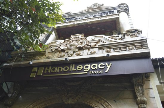Hanoi Legacy Hotel - Hang Bac: front of hotel