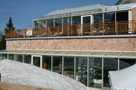 Hotel Montana: terrazza solarium