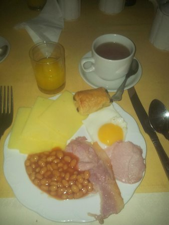 The Revere Hotel: petit dejeuner