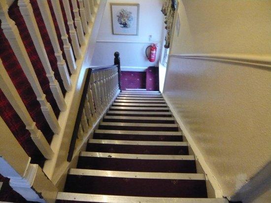 Royal Norfolk Hotel: Trapporna