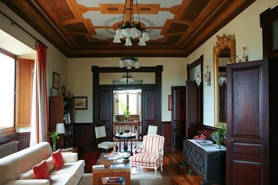 Quinta de Villanueva: salón de la casa