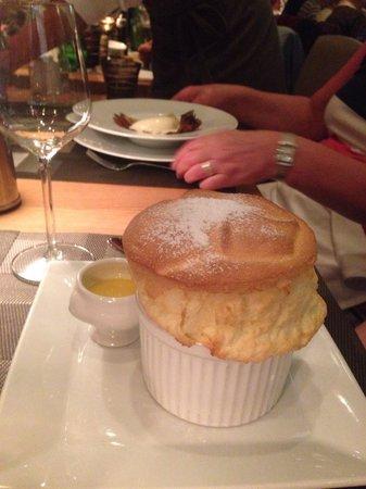 L'Affable : Magnificent soufflé! Deliciously light