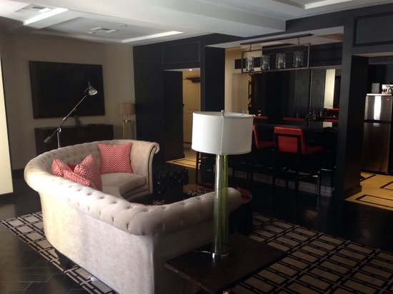 The Cromwell: Living space felt like a cool apartment