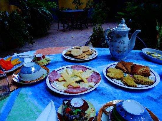 Hostal Casa Colonial el Patio: petit déjeuner!