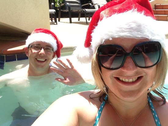 Meridian Port Douglas: A Christmas Day dip in the pool