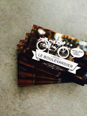 Le Boulevardier : Les nouvelles cartes de visites du boulevardier