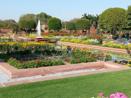 The water bodies mughal garden Mughal garden booking