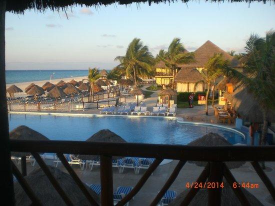 Allegro Playacar : Beautiful View Of Resort Pool