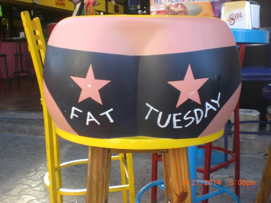 Allegro Playacar : Fat Tuesday Bar In Playa Del Carmen