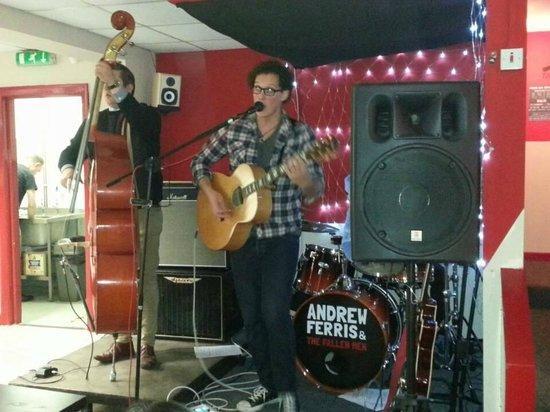 Andrew Ferris & The Fallen Men Live at Grumpy Whiskers 3