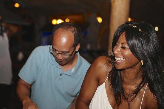 Hotel La Costa de Papito: Calypso Night at Costa de Papito (Que Rico Restaurant)