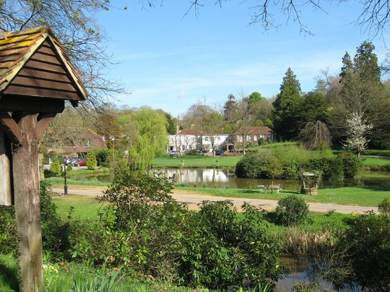 PowderMills Country House Hotel: First sight on arrival