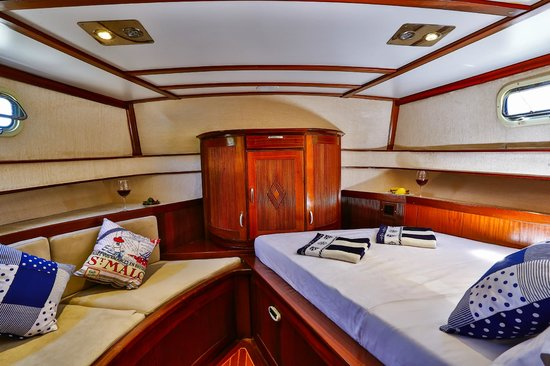 Boat Trips by Captain Ergun : Master Cabin with A/c