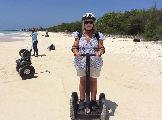 Segway Antigua Tours : Segway-tastic.....with a view!