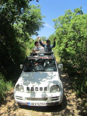 Mitsis Rinela Beach Resort & Spa: safari jeep