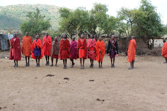 Enchoro Wildlife Camp: Massai Village