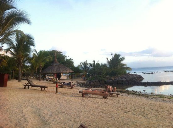 InterContinental Mauritius Resort Balaclava Fort : Vue de la plage
