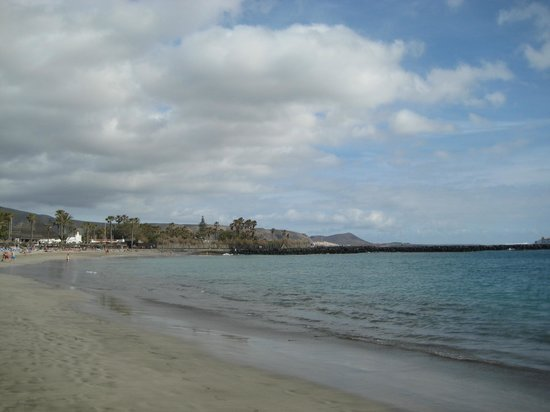 Hotel Best Tenerife: вид на пляж и океан