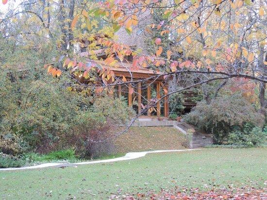 Casa Glebinias: El lugar donde se desayunaba con vista al parque
