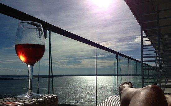 Secrets The Vine Cancun: view from preffered junior suite oceanview