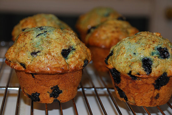 Farmer's Merchant Cafe: Our Blueberry Muffins are available daily.